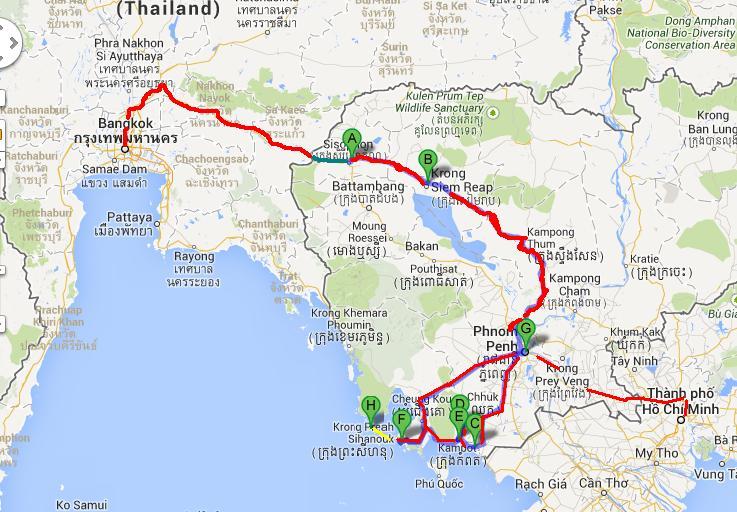 CAMBODIA | JKRoaming - Travel Blog on pailin cambodia map, takeo cambodia map, kampot cambodia map, pursat cambodia map, khmer rouge cambodia map, sen monorom cambodia map, kratie cambodia map, cambodia islands map, kompong som cambodia map, battambang cambodia map, sisophon cambodia map, mondulkiri cambodia map, stung treng cambodia map, angkor wat cambodia map, siem reap cambodia map, kep cambodia map,