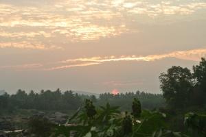Sunset on Hampi