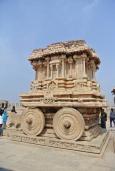 Hampi: Stone Chariot (Vittala Temple)
