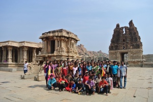 School tour at Temples