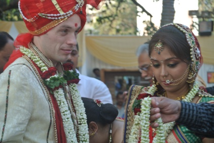 Mumbai: Newlyweds (again)