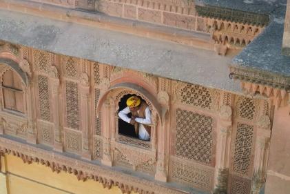 Jodhpur: Raj at the window!
