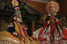 Krishna converses with Bhimina