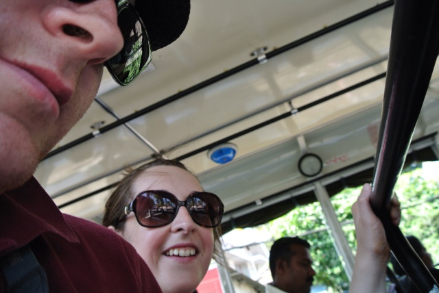 Belfie (bus selfie)