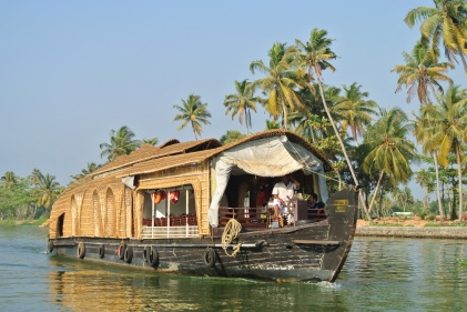 Typical houseboat
