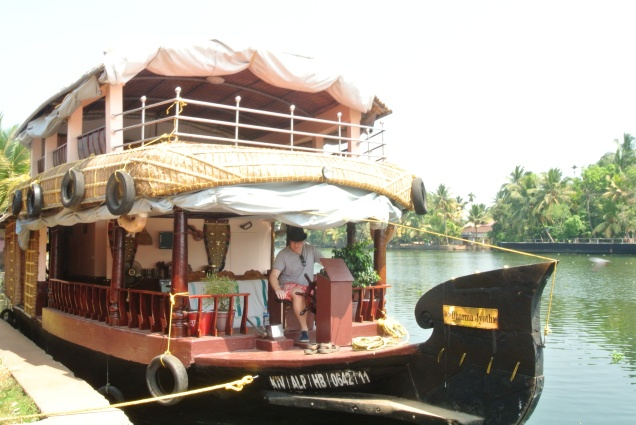 Allepey: Houseboat