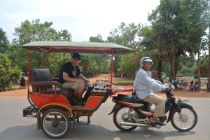 Siem Reap: Driving Miss Daisy