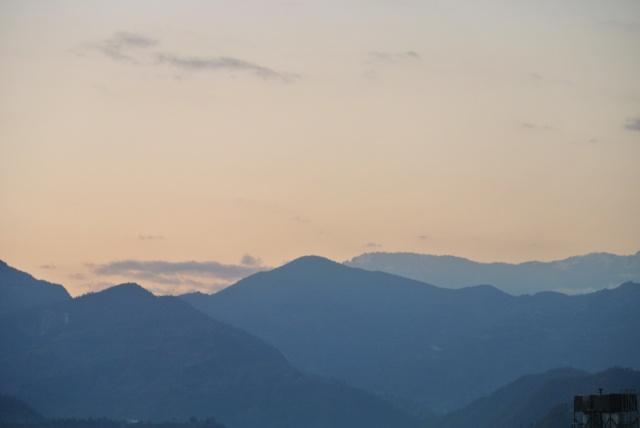 Pokhara: sunset