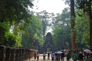 Walk to temple