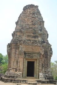 One of the five towers