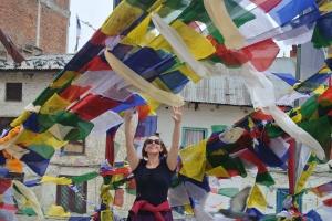 Bodhnath: Reach for the stars