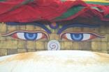 Bodnath: stupa eyes!