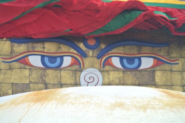 Bodhnath: stupa eyes!