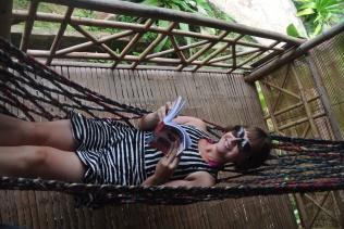 Hammy in her hammock!