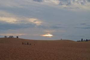 Sunset in the desert!