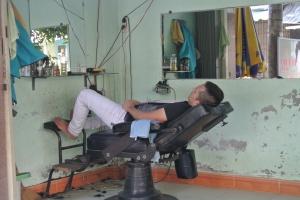 Barbershop Snore-tet!