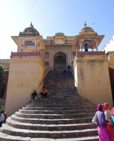 Amber Fort Entrance today.