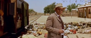 Herbert Lom as the journalist Van Layden