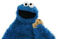 John eating his cookie!