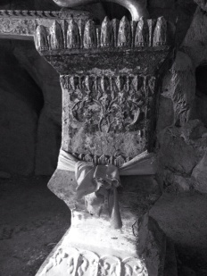 This font was used to wash the statues
