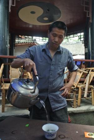 Tea time in Chengdu