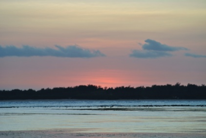 Sunset over Gili Meno