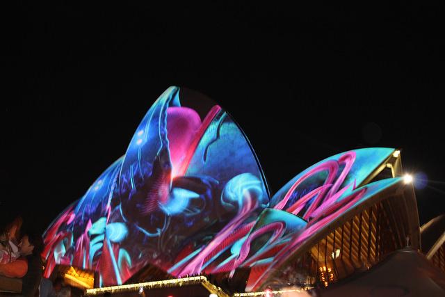 TBT: Sydney Vivid 2017