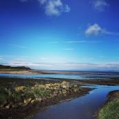 River Doon feeding the Firth of Clyde (Karen Hamilton)