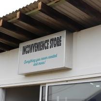 Inconvenience Store - Marina Debris