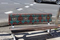 Bench by local artist collective Nitsua