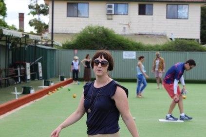 Competitive Karen was on display